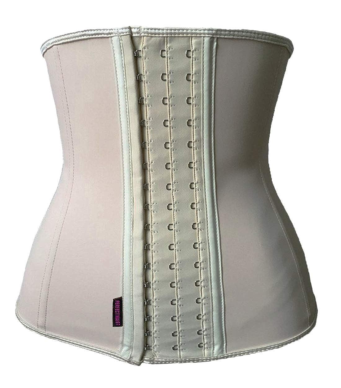 75182b2a5 DILANNI Women s Underbust Latex Sport Girdle Waist Trainer Corsets  Hourglass Body Shaper at Amazon Women s Clothing store