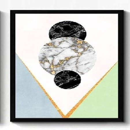jzxjzx Pintura Decorativa Abstracta geometría Bloque de Color ...