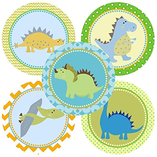 amazon com dinosaur sticker labels kids children boy girl
