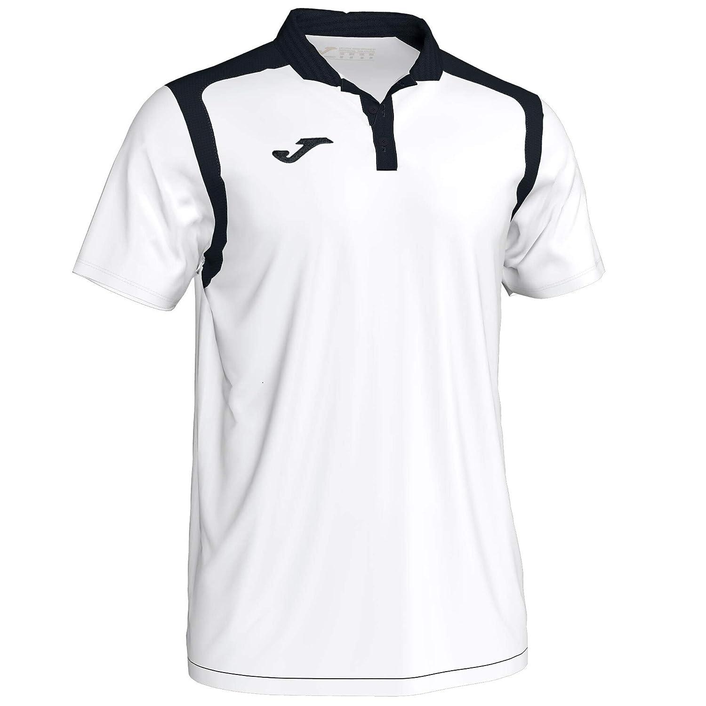 Joma Champion V m/c, Polo, Blanco-Marino: Amazon.es: Deportes y ...