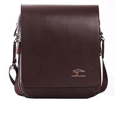 Amazon.com: EconoLed Men's Genuine Leather/PU Authentic kangaroo ...