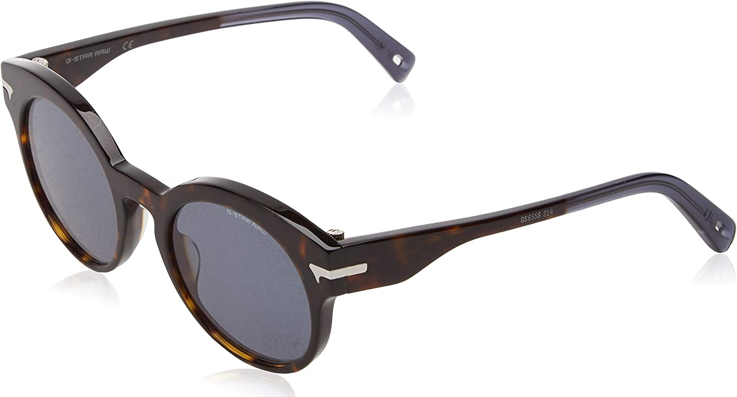G-STAR RAW Gs655S Fat Javkk 214 49 Gafas de Sol, Havana ...