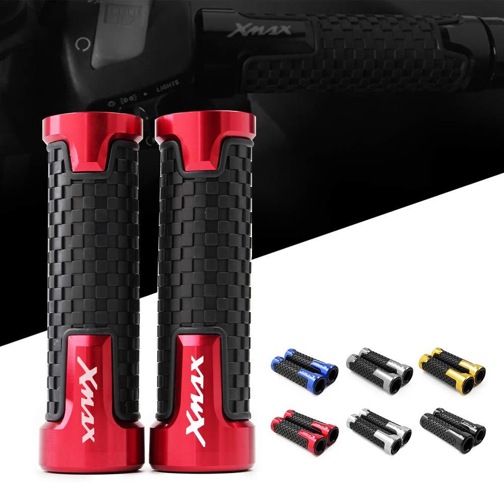 Paire de poign/ées de rechange de guidon pour motocross motard 7//8 22 mm anti-d/érapantes pour Yamaha xmax300 X-max 300 Xmax 125 250 400
