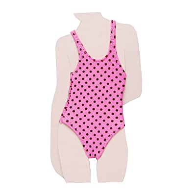 1/6 one-piece swimsuit (pink + black polka dot) (japan import)