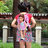 ZITA ELEMENT Doll Fashion Kids Backpack for 18 inch American Girl Doll and other 18 Inch Doll