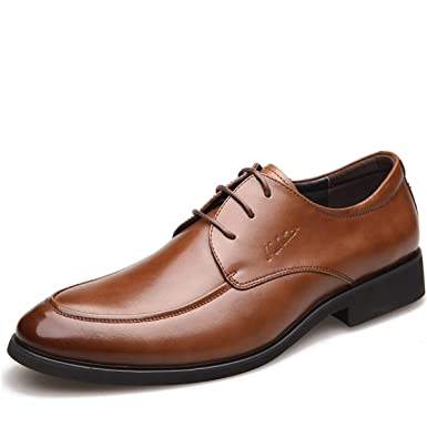 GTYMFH Otoño Zapatos De Hombre Negocio Trajes Casual Baja ...