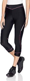 4ucycling, pantaloni da ciclismo 'Cycling Capri' da donna, in tessuto traspirante e imbottito, per il massimo comfort delle cosce, donna, 4U-CaiDie-P-S, pink, S(Waist:66-71cm)(Hips:84-89cm) pantaloni da ciclismo Cycling Capri da donna