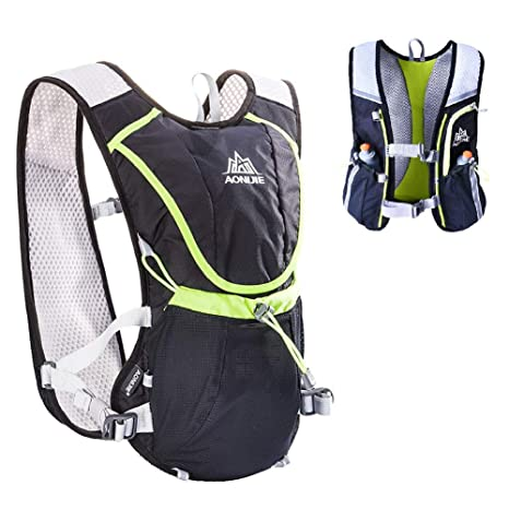 43ff661bd0 Amazon.com : AONIJIE Running Hydration Vest Pack Outdoors Rucksack Bag  Harness Water Bladder Marathon Hiking Cycling Backpack for Women and Men  Lightweight ...