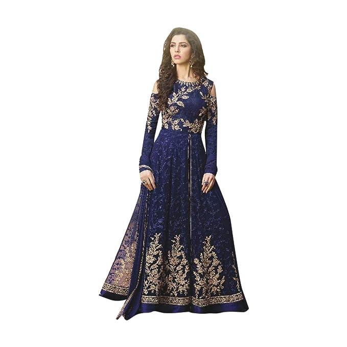 Personalizado para medir anarkali traje fiesta salwar mujeres vestido de las muchachas de boda mujeres musulmanas
