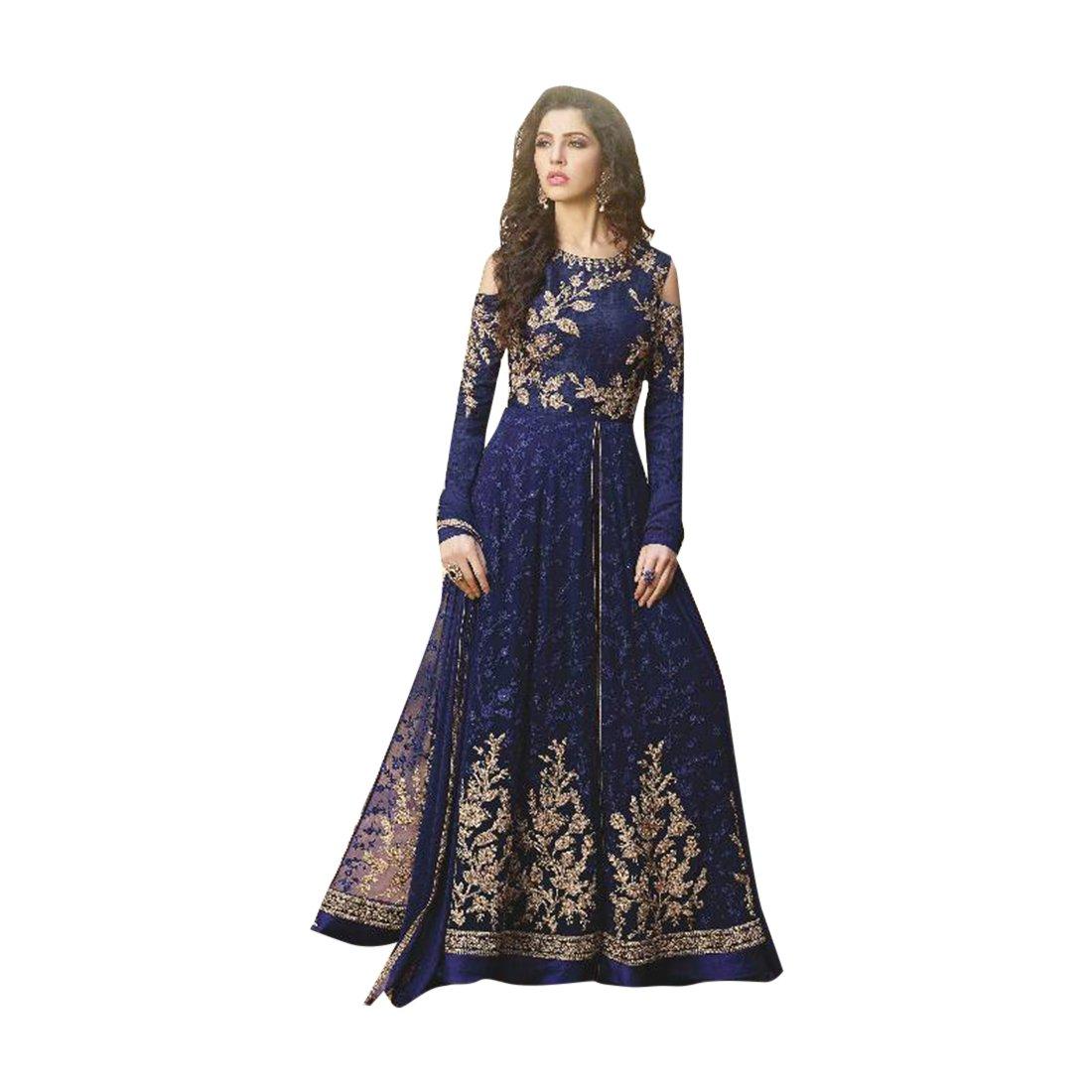 Wedding Bollywood Designer Bridal Georgette Anarkali Suit Custom to Measure Muslim 851