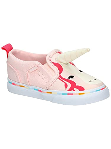 24d0048c7d Amazon.com  Vans Toddler Girls Asher V Pink Unicorn with Horn ...