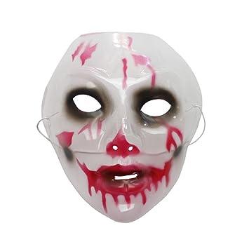 PromMask Mascara Facial Careta Protector de Cara dominó Frente Falso Halloween decoración máscara mueca máscara Miedo