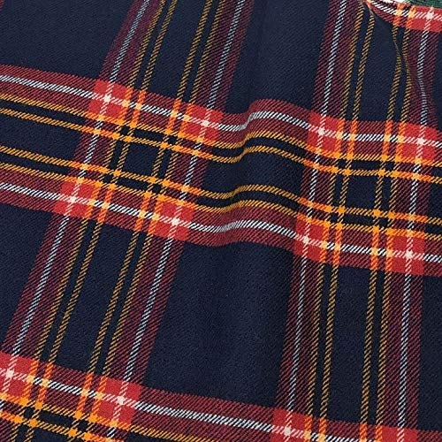 Earl of Inverness Hunting Tartan Fabric 100% Pure Wool Made in Scotland 10oz Lightweight Cloth