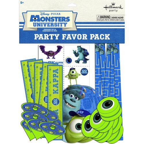Hallmark BB1TPE1740 Monsters Inc. Party Favor Pk - 48 Piece]()