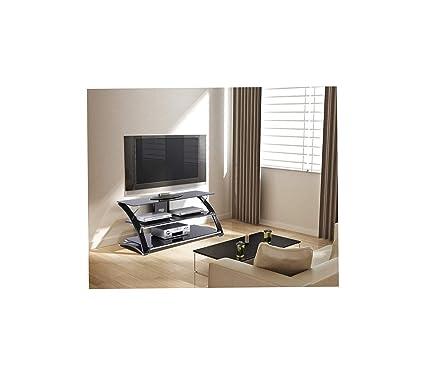 Amazon.com: Wood & Style Durable TV Stand Vitoria Decor ...