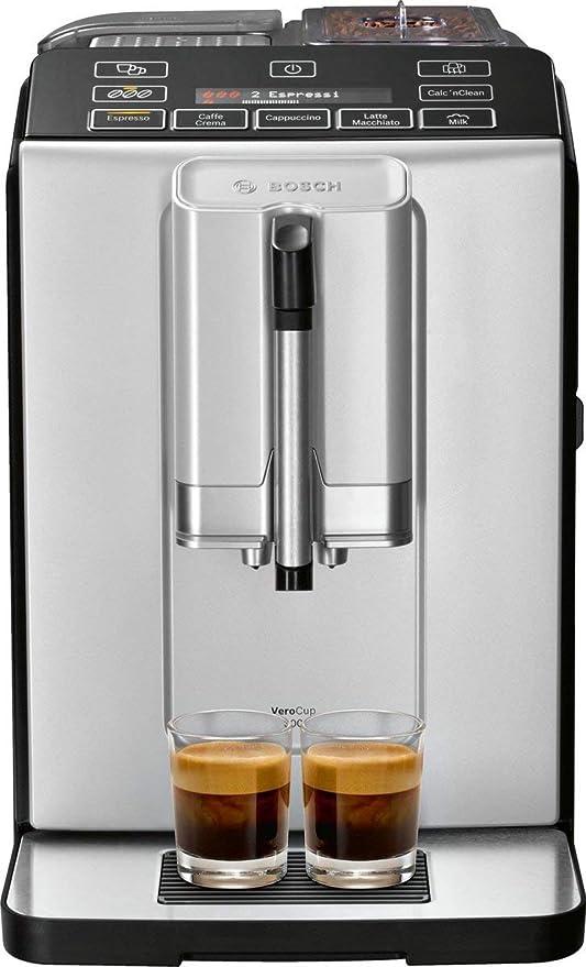 Bosch 300 Series TIS30321RW - Cafetera (Independiente, Máquina espresso, 1,4 L, Granos de café, 1300 W, Negro): Amazon.es: Hogar