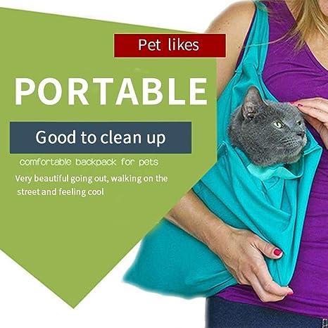 Amazon.com: Bolsa de viaje con diseño de gato: Mascotas