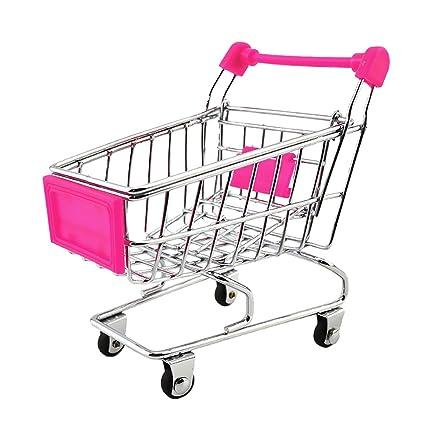 Homyl Mini Carretilla Carrito de Supermercado Juguete de Imaginación para Niños - 12 x 8,
