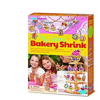 4M Kidzmaker My Glitter Bakery Shrink Kit: Toys & Games