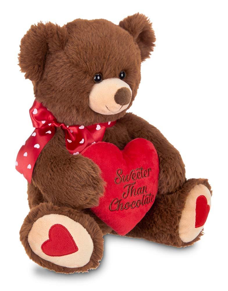 12 inches Bearington Collection Bearington Beary Sweet Plush Stuffed Animal Teddy Bear with Heart