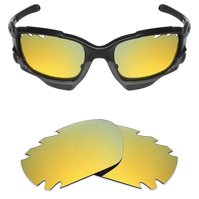 38a10e1b05 MRY polarizadas lentes de repuesto para Oakley Jawbone Vented - Gafas de  sol deportivas, color opciones 24K Gold-Polarized: Amazon.es: Ropa y  accesorios