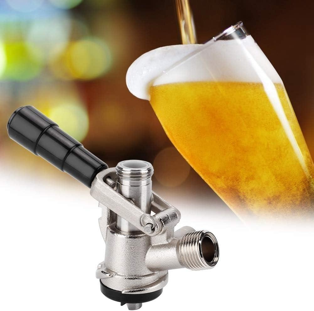 Cerveza a presión, presión S Tipo dispensador de la Cerveza Fabricación de la Cerveza del Grifo con Seguridad for Herramientas Vino Inicio válvula de Alivio