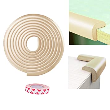 Bon GOSTAR 6.5 Ft Extra Thick Baby Bumpers Furniture Corner Edge Guard Cushion  Baby Proof Children Protective