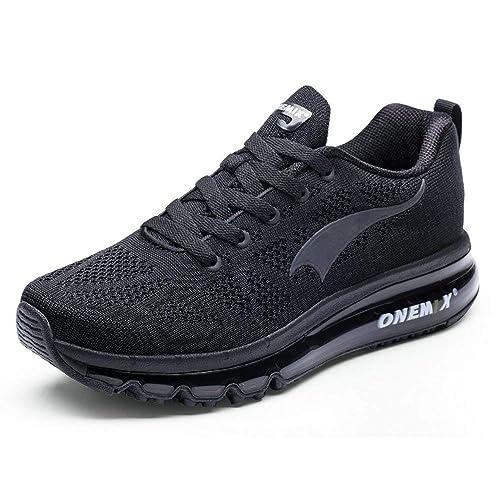 Onemix Las Zapatillas para Hombre - Deportes 3D Knit Colchón de Aire Trainer Funcionamiento atlético la Zapatilla de Deporte: Amazon.es: Zapatos y ...