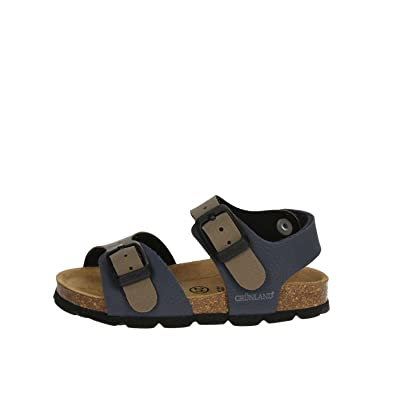 Grunland Junior SB0025 Aria Sandalo Bamb. S. Tortora 19 IS7IPelMH