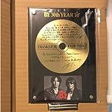 B'z 30周年 ファンクラブ限定 記念品 記念盾