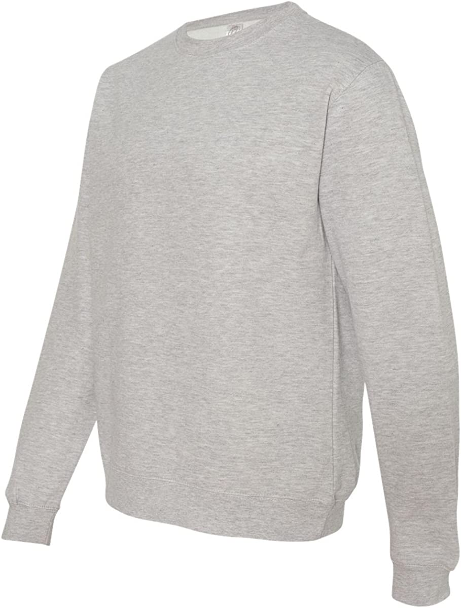 ITC Mens Crewneck Sweatshirt-SS3000-Grey Heather