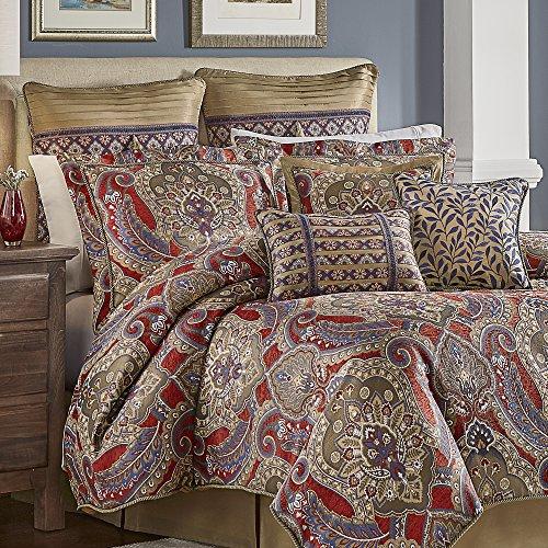 Croscill Margaux Comforter Set (4 Piece), King, Multicolor