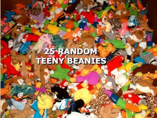 25 Ty Teeny Beanie Babies - Wholesale Lot - 61LxK15jGmL - 25 Ty Teeny Beanie Babies – Wholesale Lot