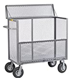 Little Giant SB-3048-9P Security Box Truck, 30'' x 48'', Gray