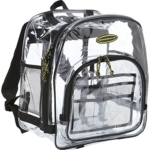 Varsity High School or College-Clear Backpack
