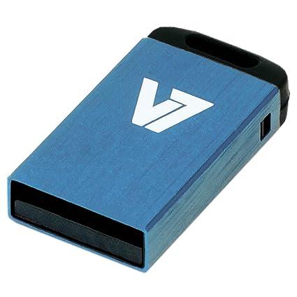 V7 VU232GCR-BLU-2E V7 Unidad de memoria flash USB 2.0 nano 32 GB, azul