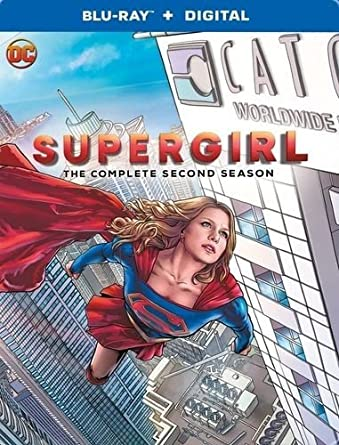 Amazon.com: Supergirl: The Complete Second Season (BD ...