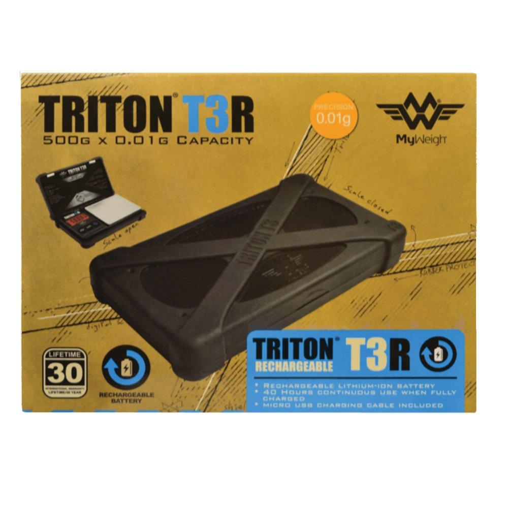 Triton T3R Recharbeable Scale 500g x .01g by Triton (Image #2)