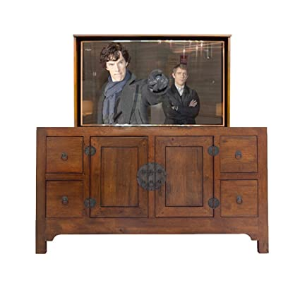 amazon com tv lift handcrafted kane tv lift cabinet 55 or