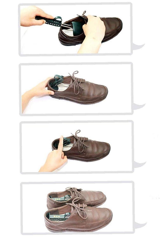 2x Shoe Stretcher Adjustable Boot Men Women Shaper Sneakers Expander Widener