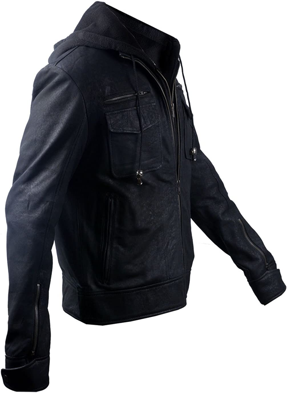 Empirical Selection Leather Jackets Men Men/'s Leather Jacket