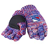 peak gloves - NHL New York Rangers Peak Glove, Blue