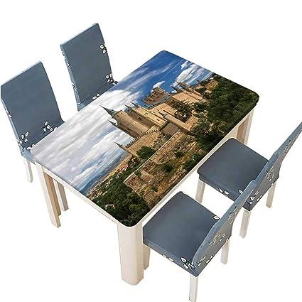 Amazon.com: PINAFORE Tablecloth Castle of Segovia Spain ...