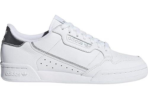 adidas Continental 80 W (weiß/Silber) - 42 EUR · 8 UK: Amazon.de ...