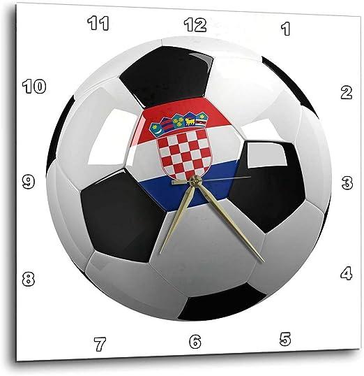 3dRose balón de fútbol con la Bandera Nacional de Croacia en it ...