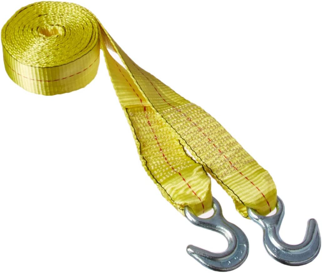 Highland 1014600 15 Yellow Tow Strap