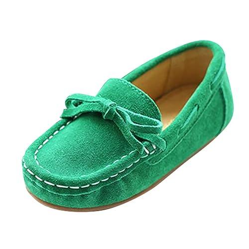 YiJee Niños Casual Zapatos Comodidad Piso Mocasines Loafers Verde 38: Amazon.es: Zapatos y complementos