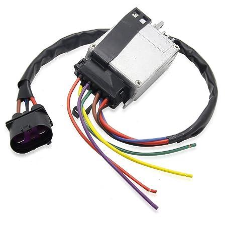 8e0959501ag módulo de unidad de control del ventilador del radiador para Audi A4 A4 Quattro Cabrio 8e0959501ab 8e0959501g 8e0959501 K: Amazon.es: Coche y ...