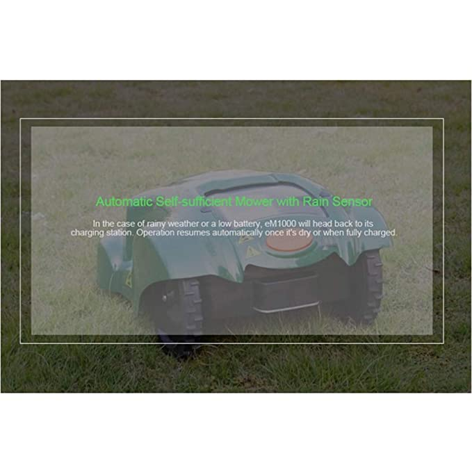 KJRJG Automower robótica cortadora de césped, césped eléctrica ...