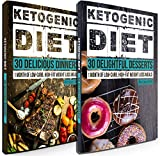 Keto Diet: 60 Divine Ketogenic Diet Recipes: 30 Days of Low Carb, High Fat Lunch & Dinner + FREE GIFT! (Ketogenic Cookbook, High Fat Low Carb, Keto Diet, Weight Loss, Epilepsy, Diabetes Book 1)